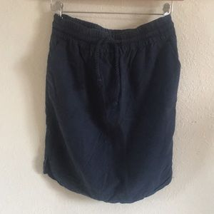 EUC LOFT | Nautical navy skirt
